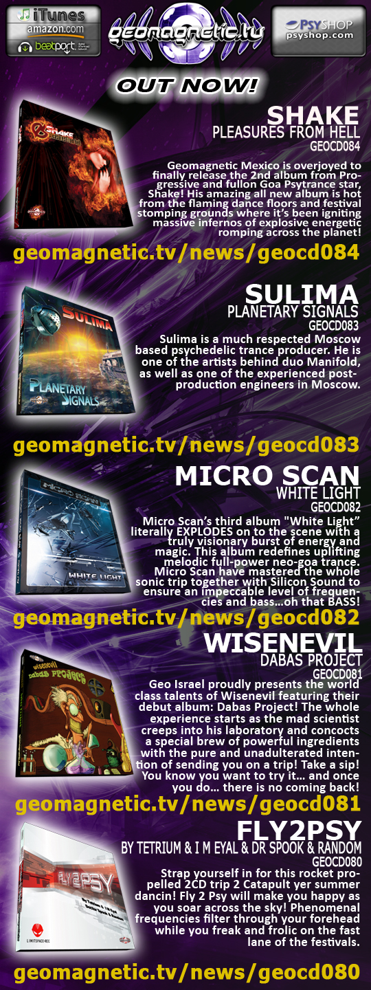 Geomagnetic Distribution: Out Now!